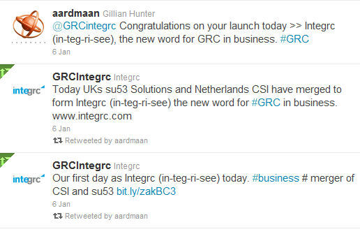 new company Integrc announce launch 6 January 2012