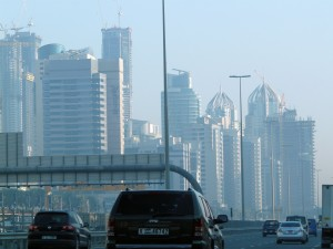Dubai Marina in January 2010