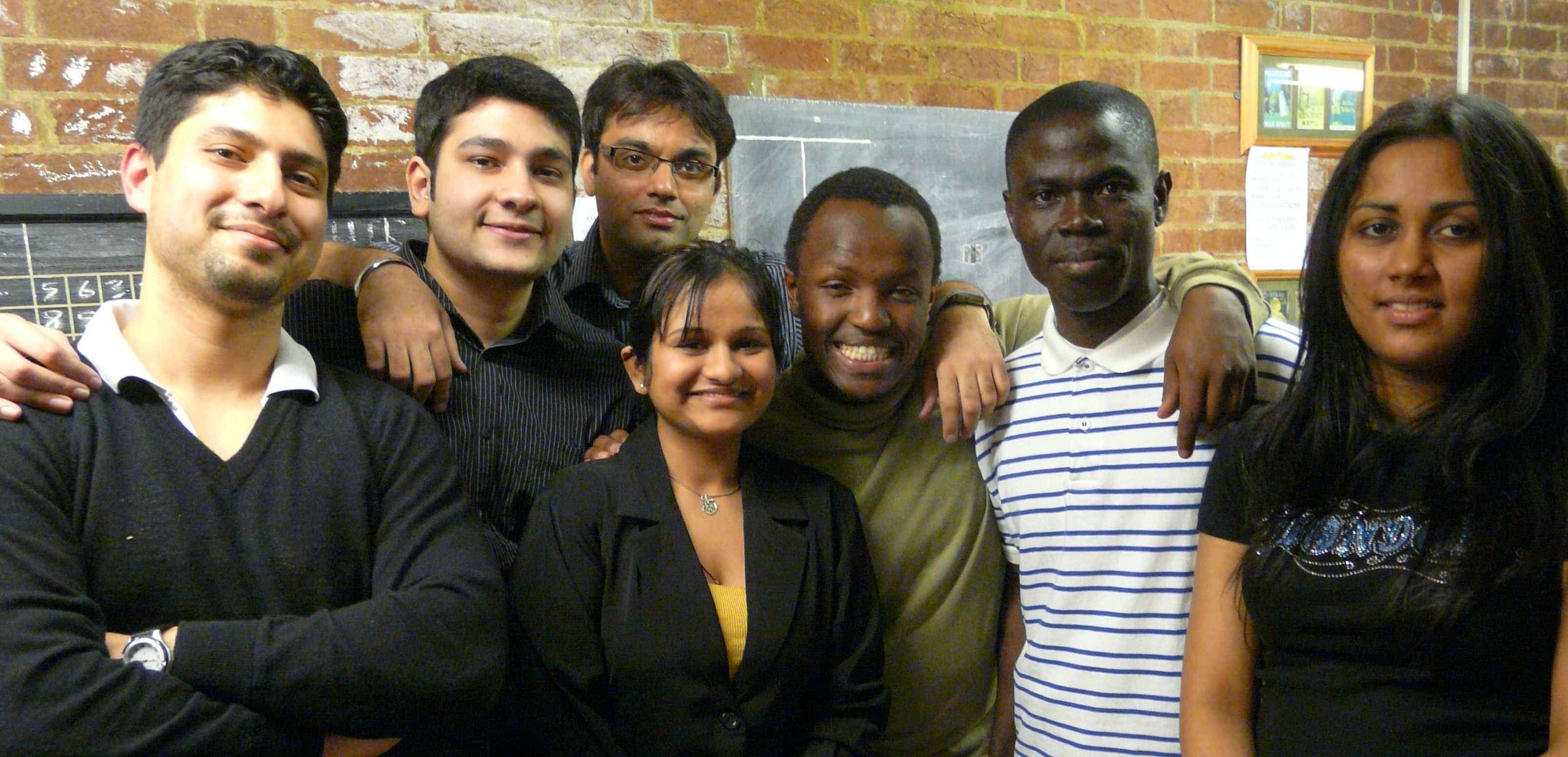 MBA students who took part in 2010 LATi case study project